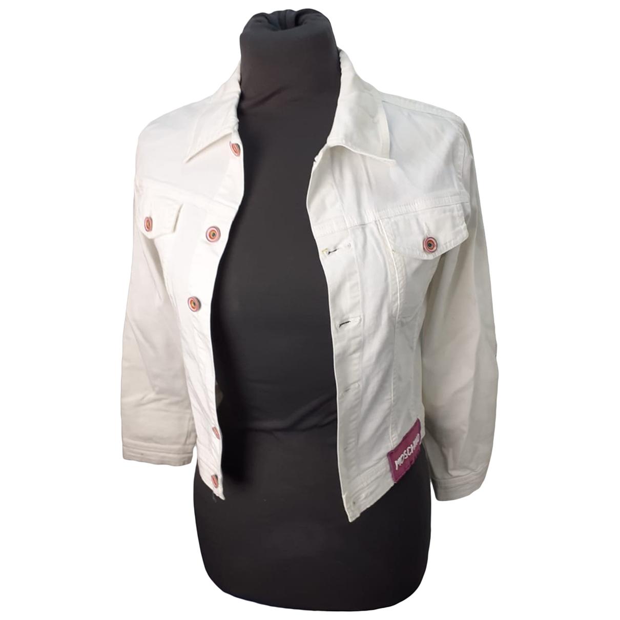 Moschino \N White Cotton jacket for Women XXS International
