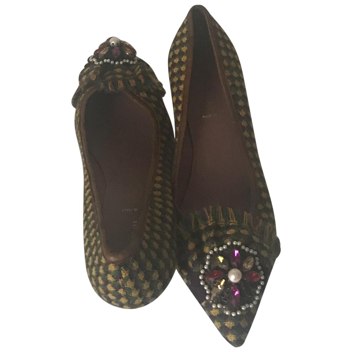 Miu Miu \N Tweed Heels for Women 39 EU