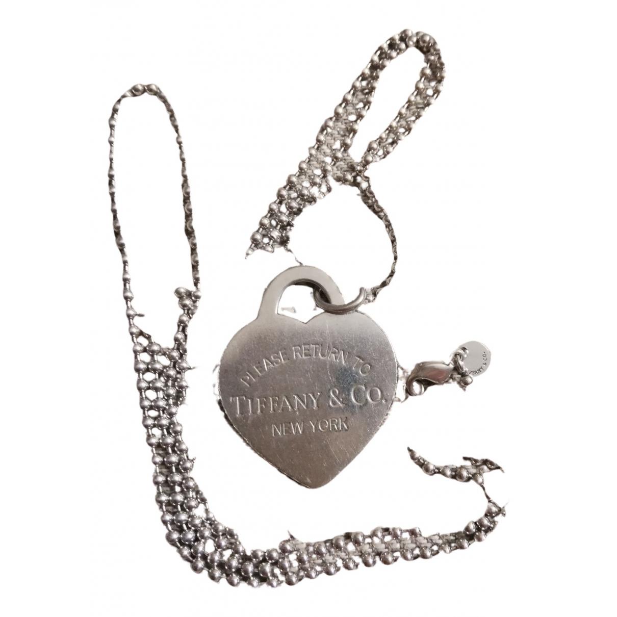 Tiffany & Co Return to Tiffany Halskette in  Silber Silber