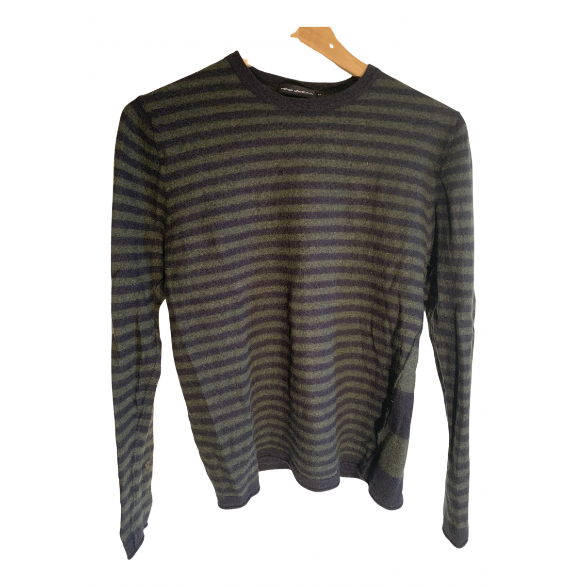 French Connection \N Pullover.Westen.Sweatshirts  in  Blau Wolle