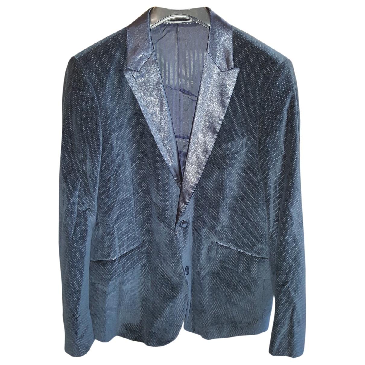 Adolfo Dominguez - Costumes   pour homme en coton - bleu