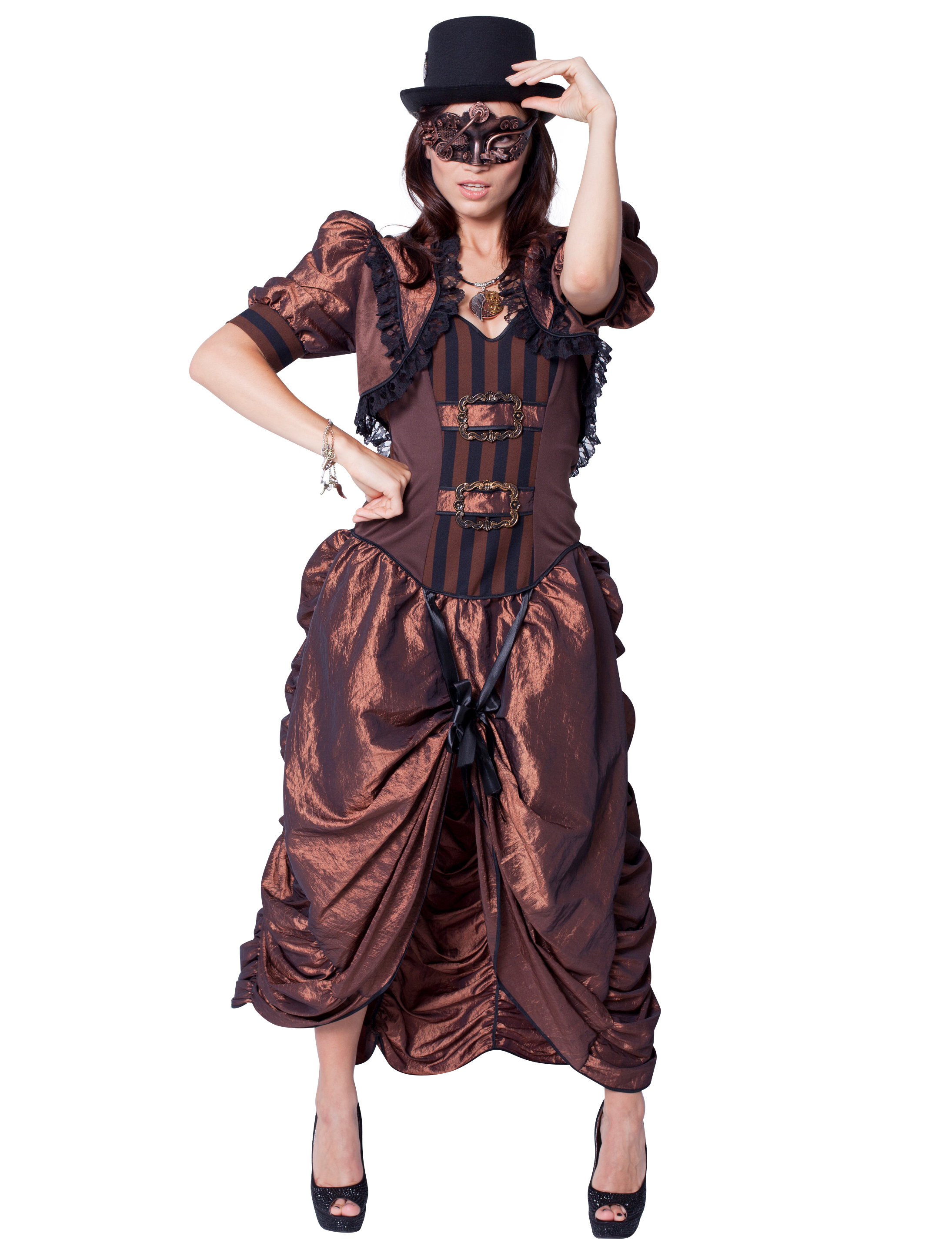 Damen-Kostuem Steampunkkleid Grosse: 40