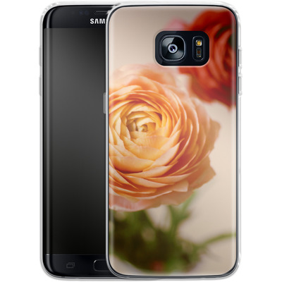 Samsung Galaxy S7 Edge Silikon Handyhuelle - She Loved Flowers von Joy StClaire