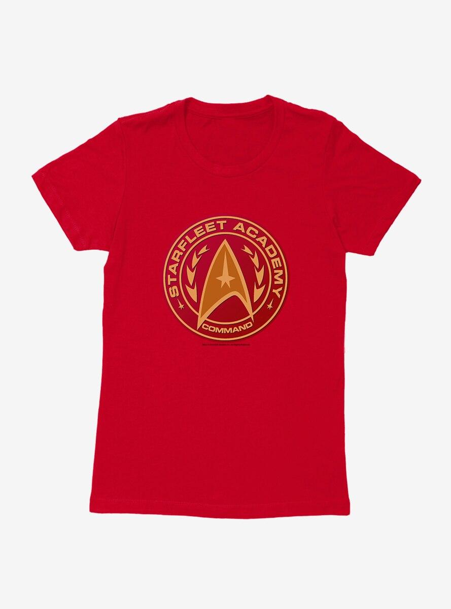 Star Trek Starfleet Academy Gold Logo Womens T-Shirt