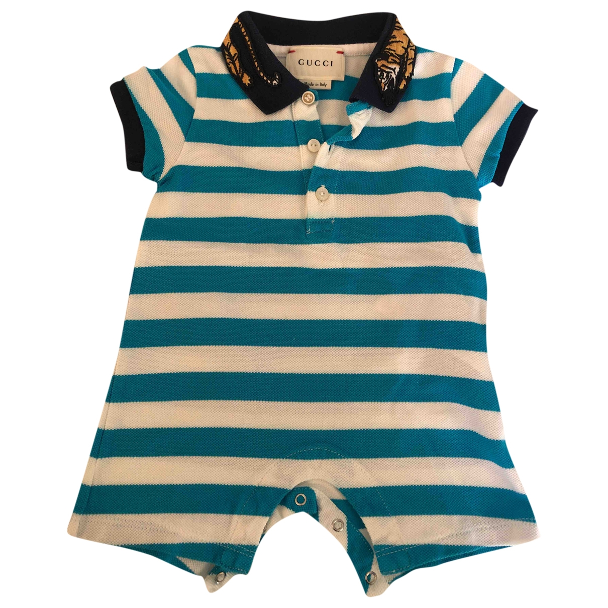 Gucci \N White Cotton Outfits for Kids 3 months - up to 60cm FR
