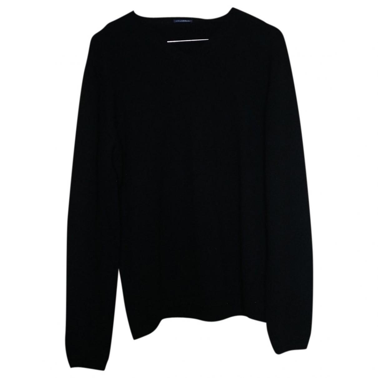 Malo \N Pullover.Westen.Sweatshirts  in  Schwarz Wolle