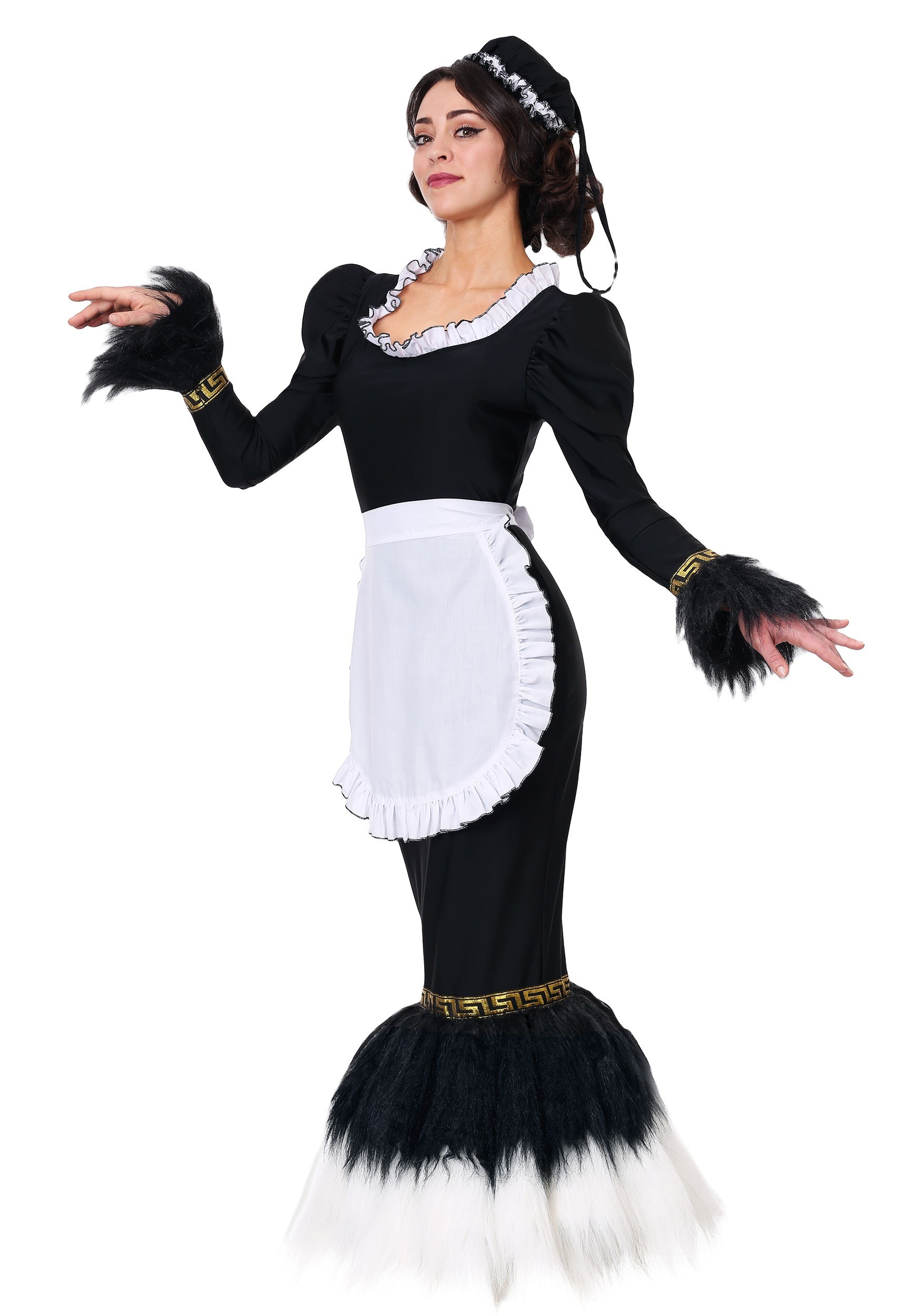 French Feather Duster Costume for Women