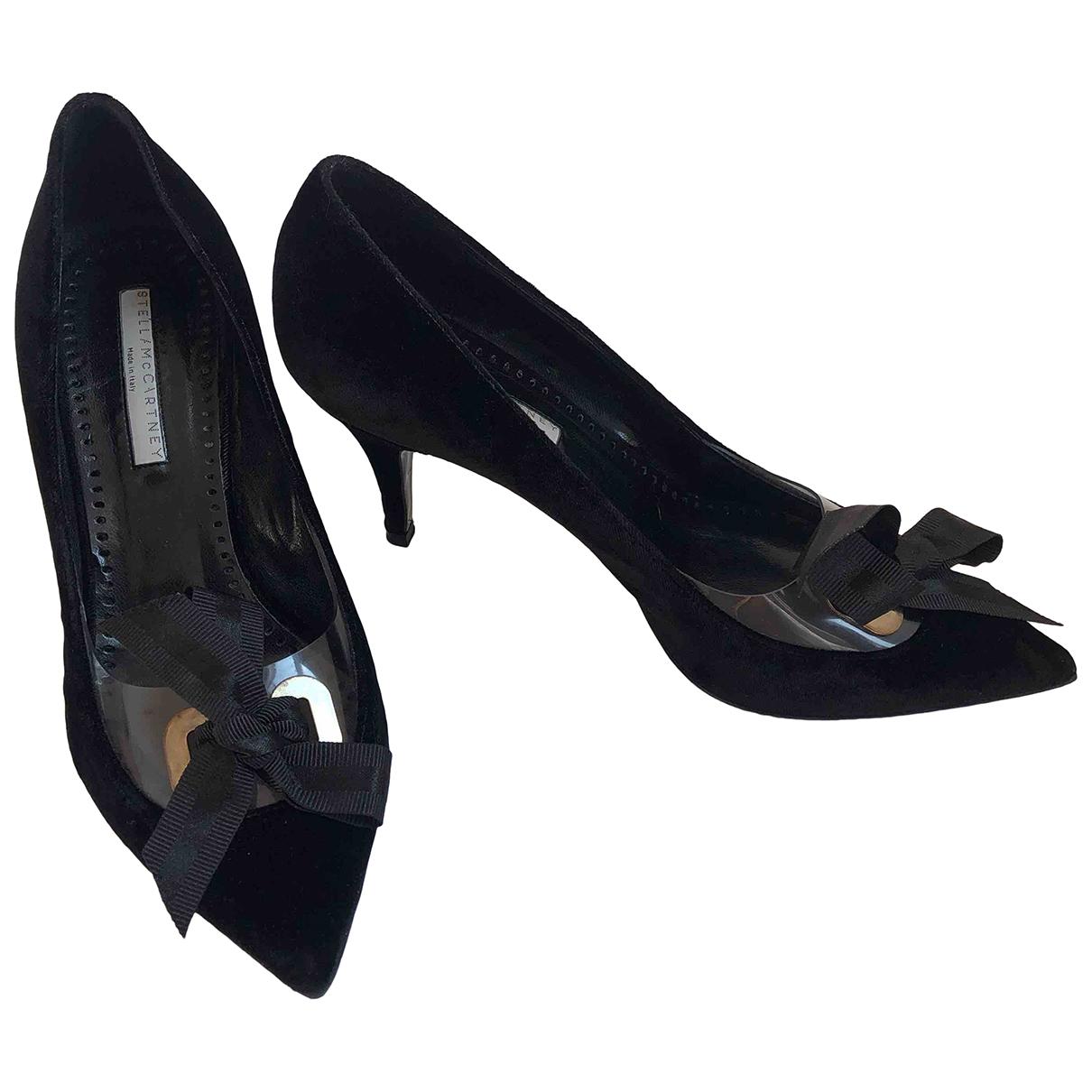 Stella Mccartney - Escarpins   pour femme en velours - noir