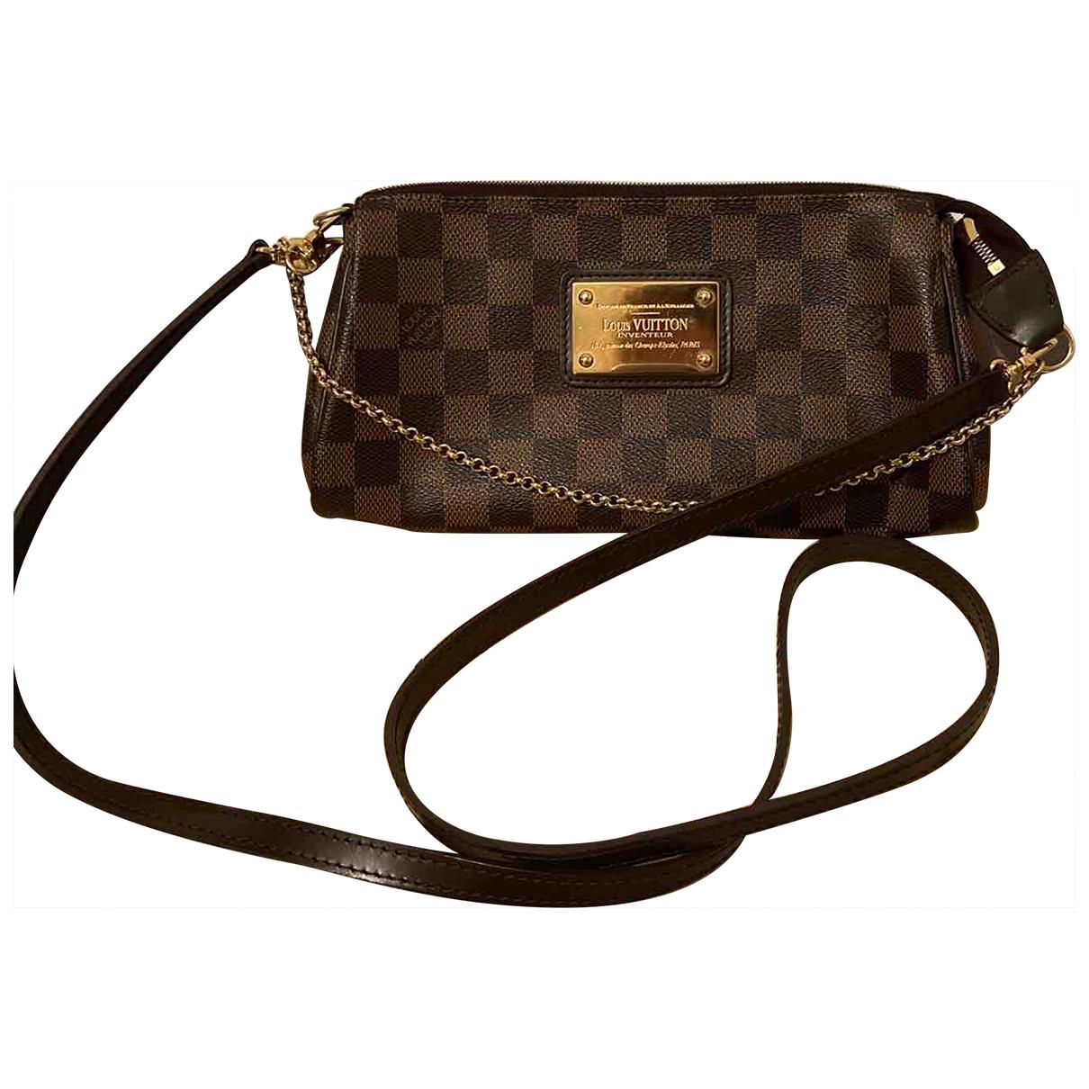 Louis Vuitton Eva Brown Cloth handbag for Women \N