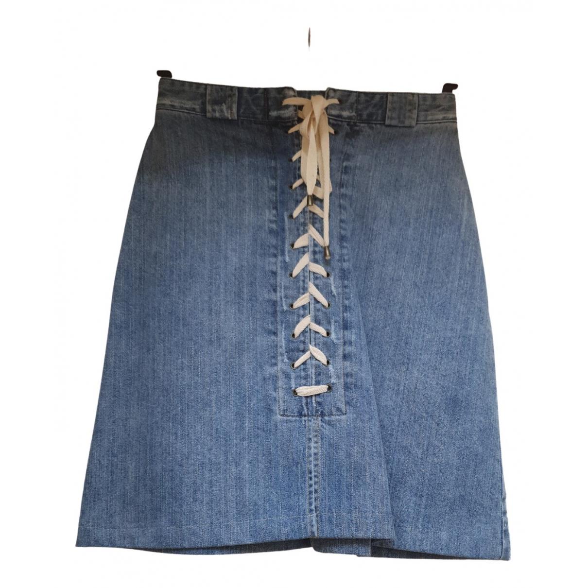Sea New York \N Rocke in  Blau Denim - Jeans