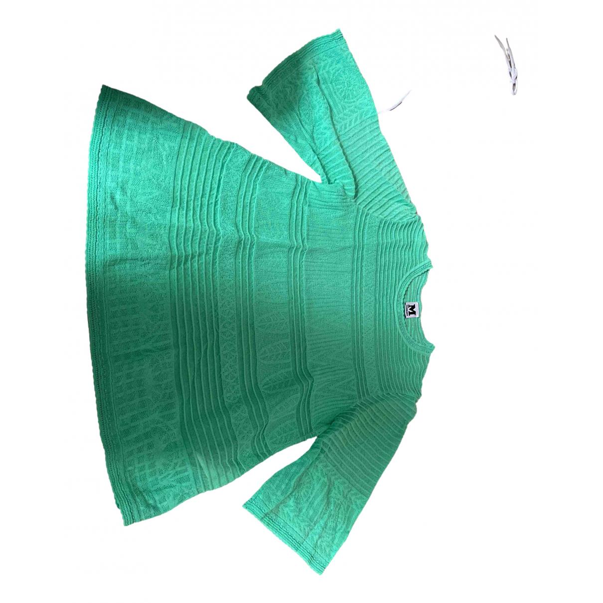 M Missoni \N Green Cotton  top for Women 38 FR