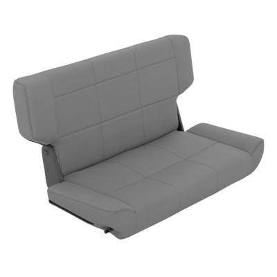 Smittybilt Fold and Tumble Rear Seat (Charcoal) - 41511