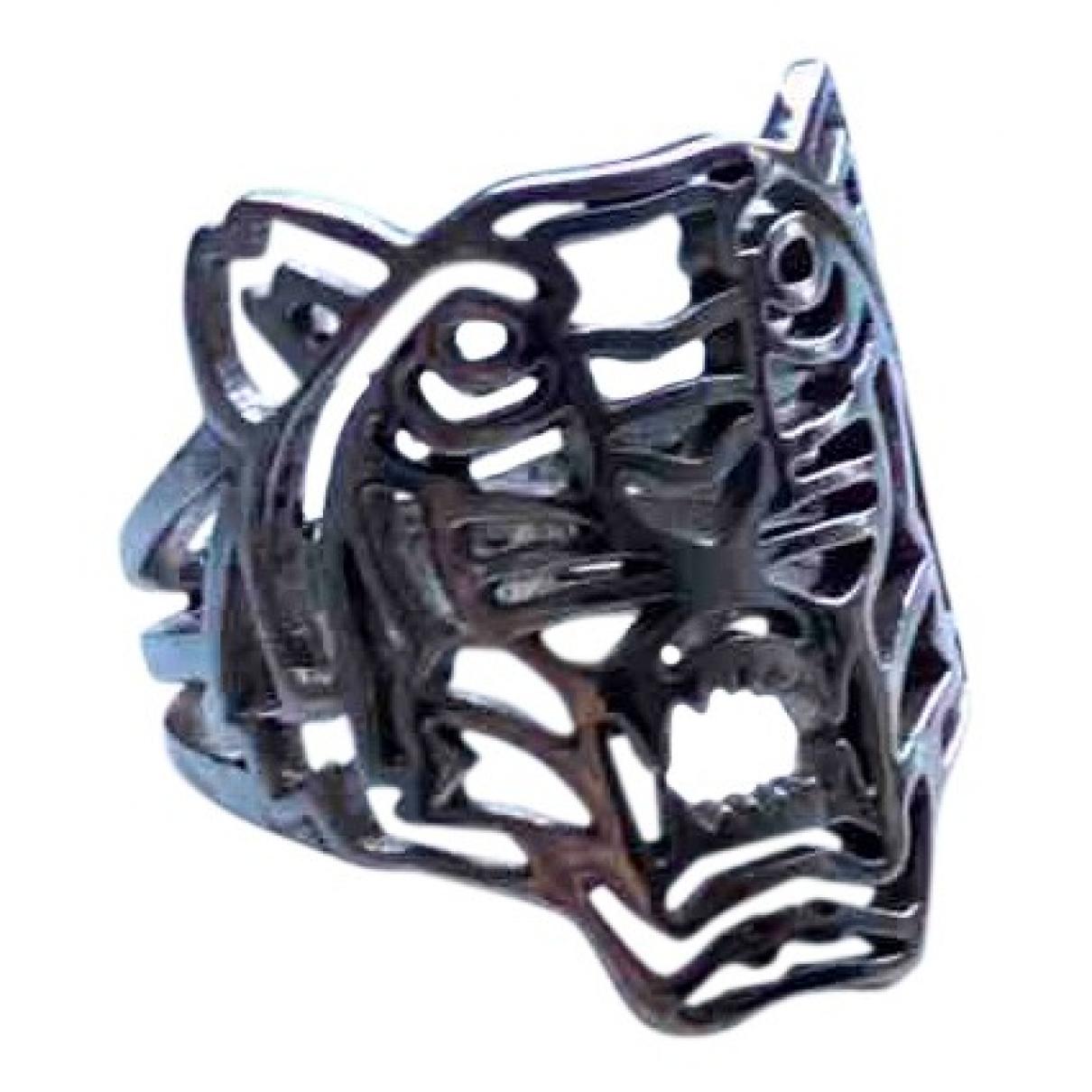 Anillo Tigre de Plata Kenzo