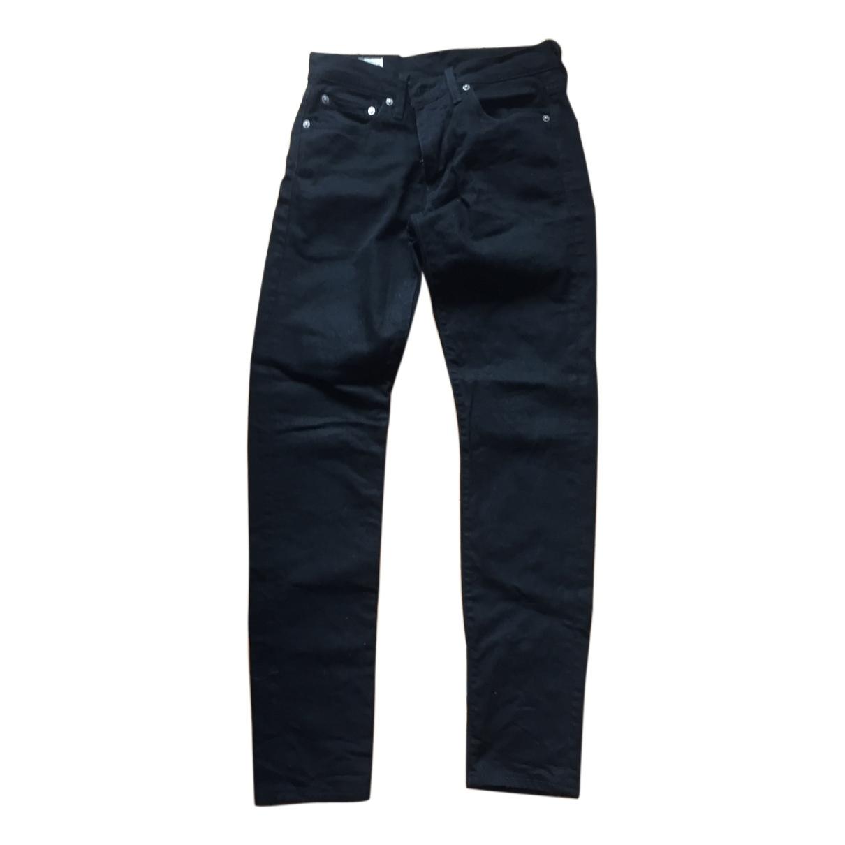 Levi's \N Black Cotton Jeans for Men 28 US
