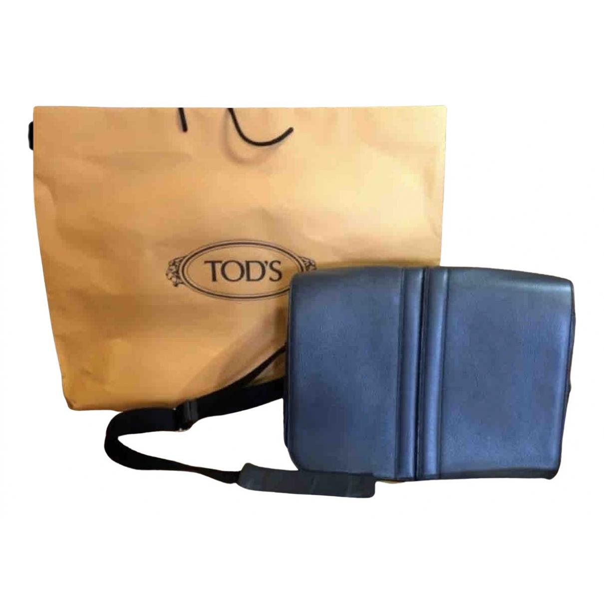 Tod's N Navy Leather bag for Men N