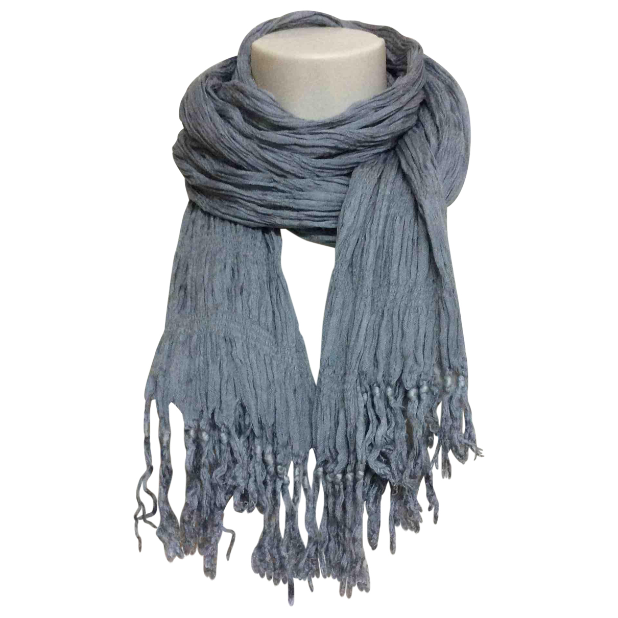 Max Mara \N Grey Silk scarf for Women \N