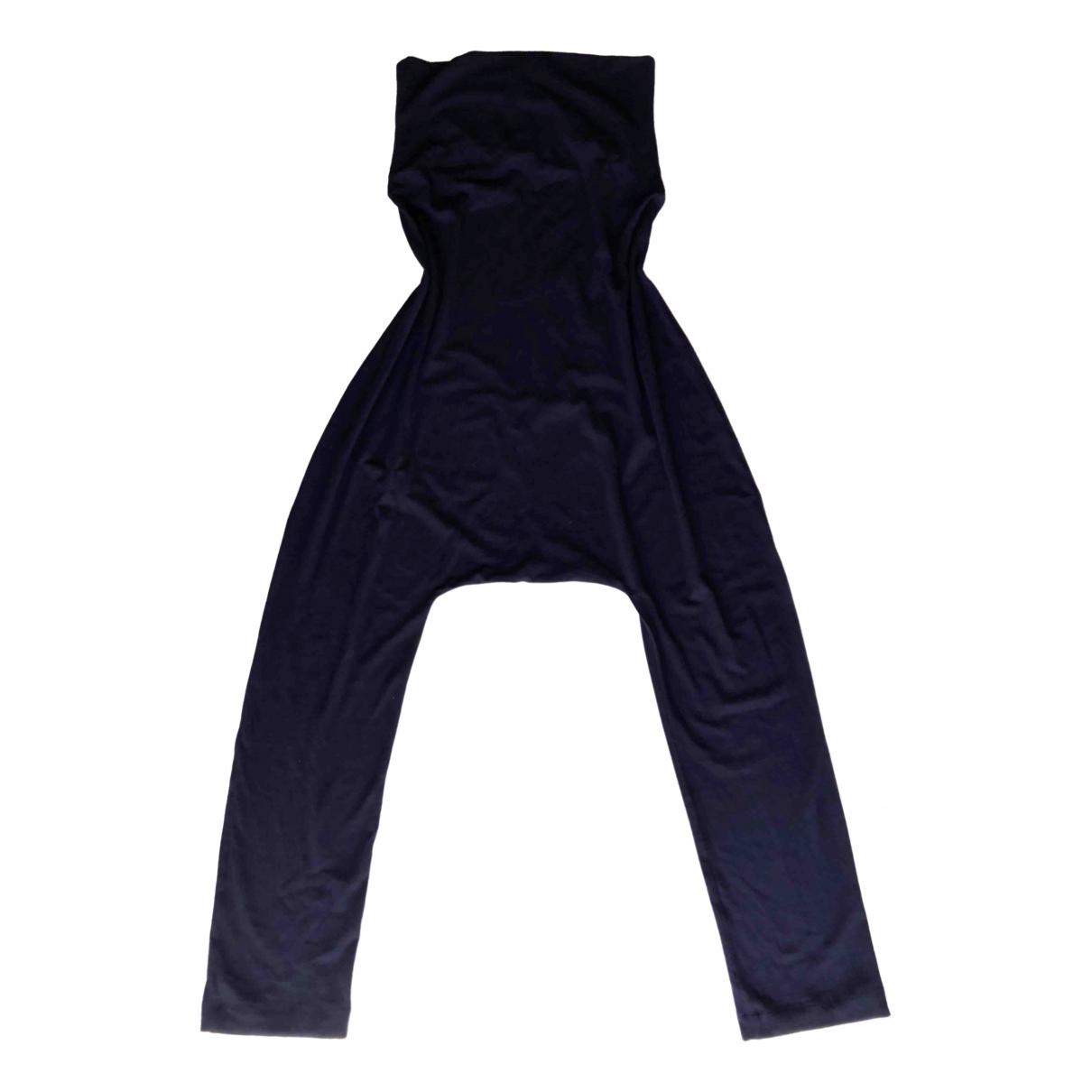 - Combinaison   pour femme en laine - noir