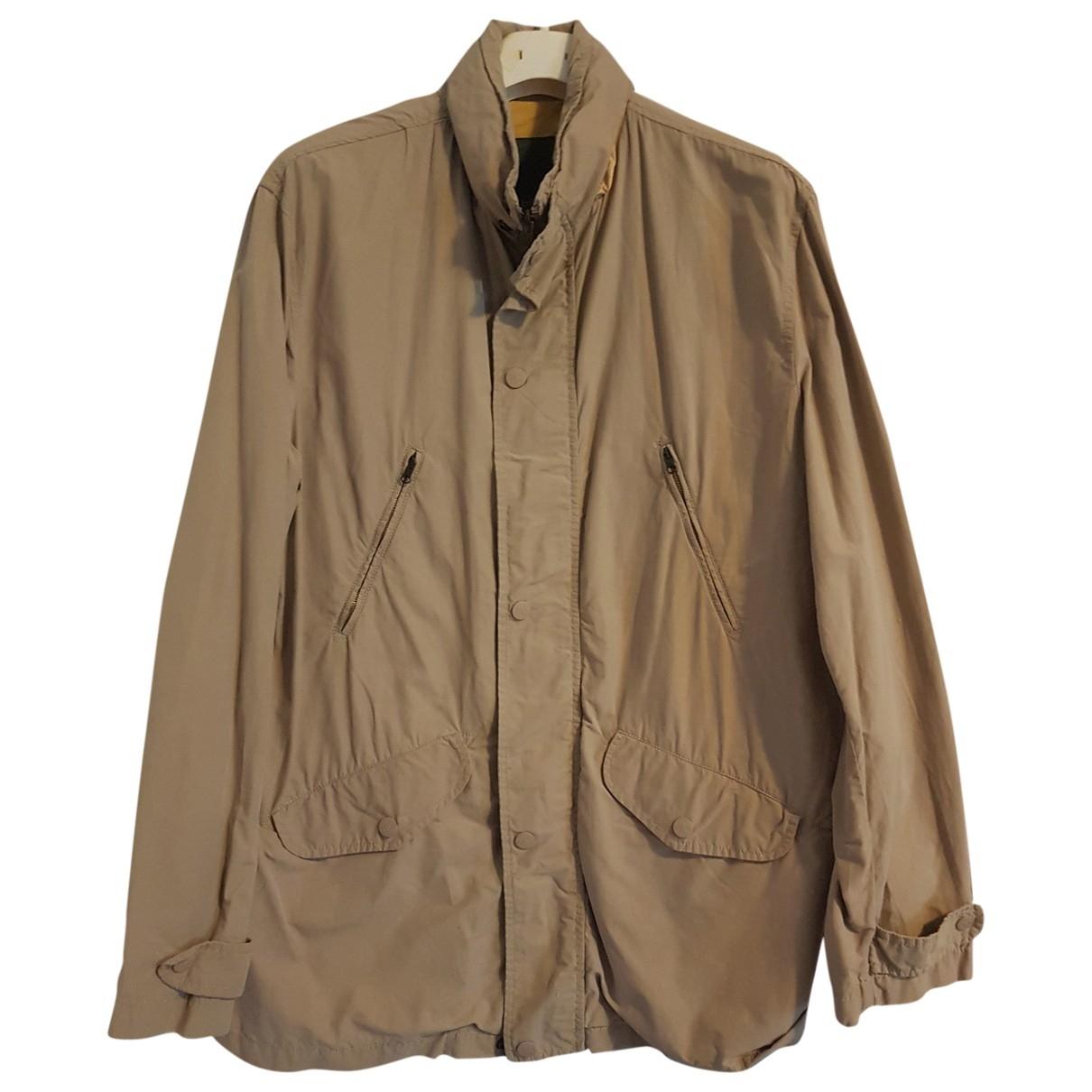 Henry Cotton \N Beige Cotton jacket  for Men 50 IT