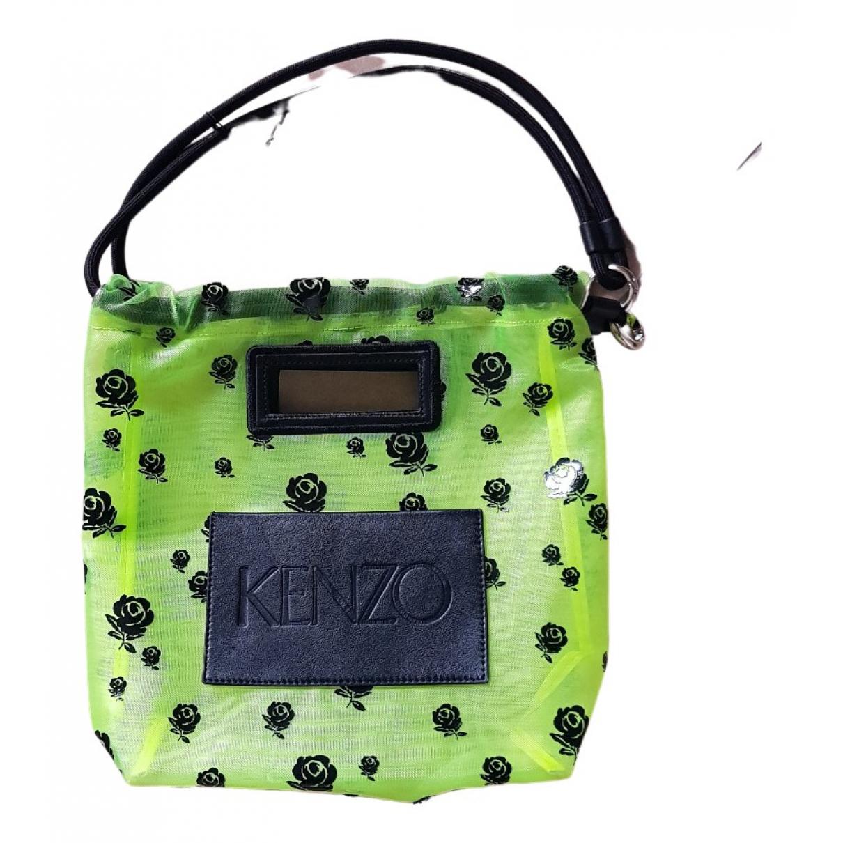 Kenzo \N Handtasche in  Gelb Synthetik