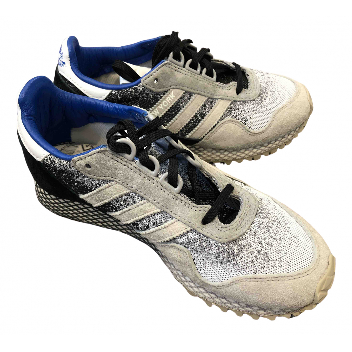 Adidas \N White Leather Trainers for Women 4 UK