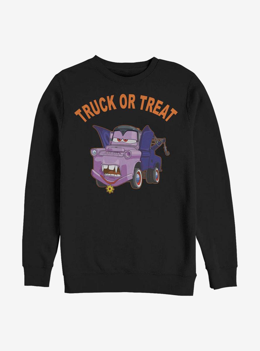Disney Pixar Cars Mater Truck Or Treat Color Sweatshirt