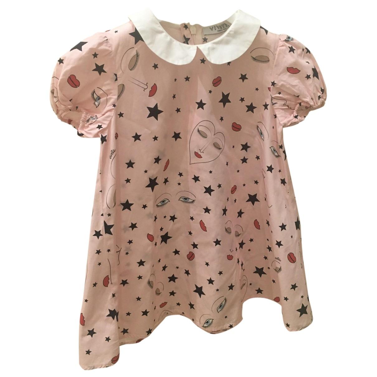 Vivetta \N Kleid in  Rosa Baumwolle