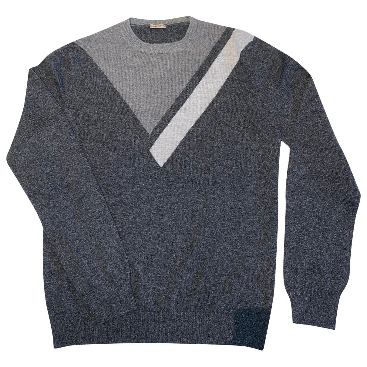 Tomas Maier \N Pullover.Westen.Sweatshirts  in  Grau Kaschmir