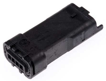 Delphi , 211PL Female Connector Housing, 3.33mm Pitch, 4 Way, 1 Row (5)