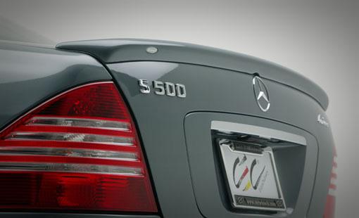 Lorinser 488 0225 10 Rear Deck Lid Spoiler Mercedes-Benz S-Class 99-06
