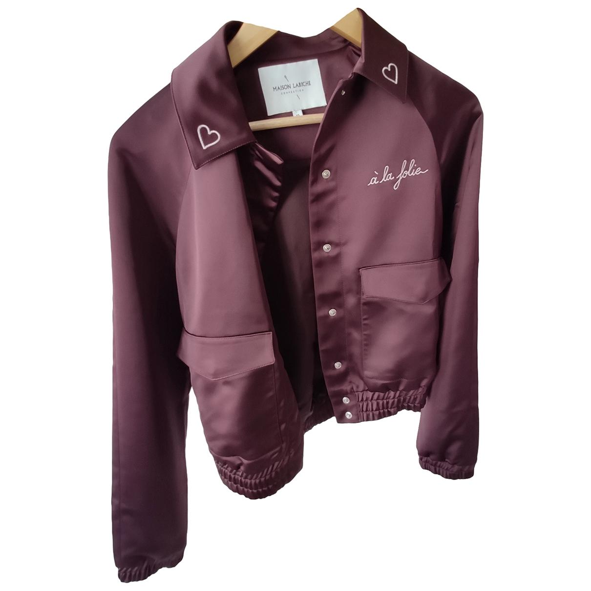 Maison Labiche \N Brown jacket for Women 34 FR
