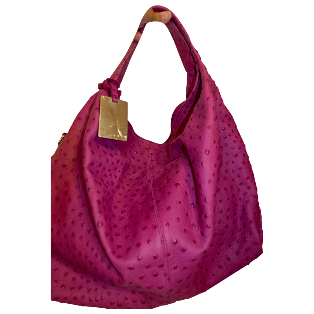 Furla N Purple Leather handbag for Women N