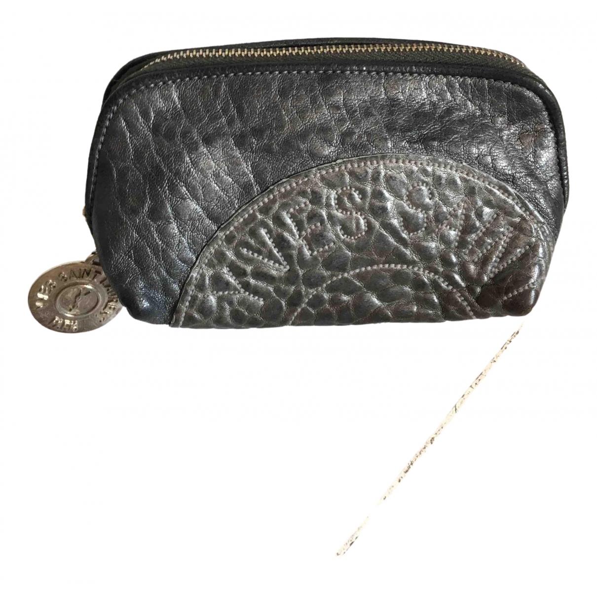 Yves Saint Laurent \N Metallic Leather Travel bag for Women \N