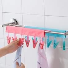 1 Stueck Tragebare zufaellige farbe Kleiderbuegel