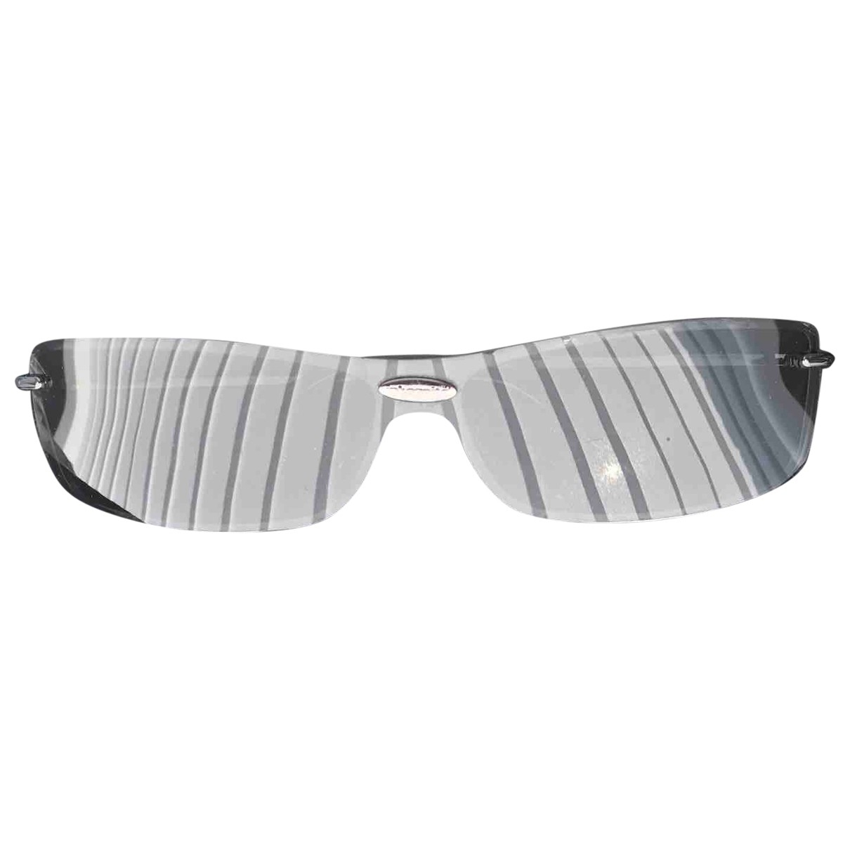 Non Signe / Unsigned \N Sonnenbrillen in  Schwarz Metall