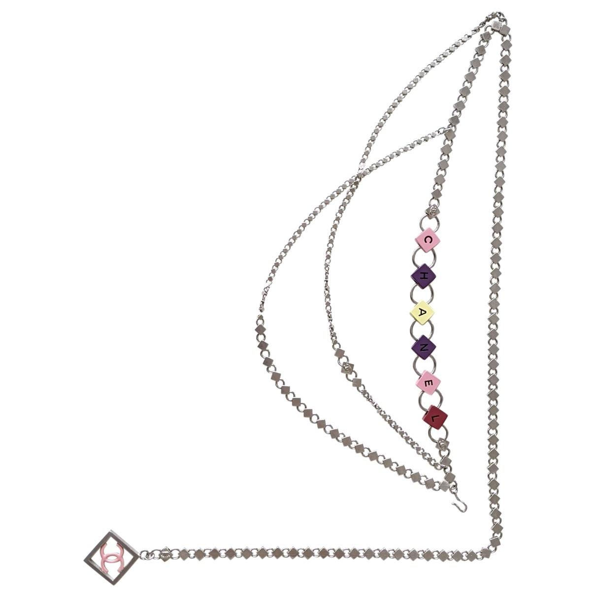 Chanel \N Multicolour Metal belt for Women M International
