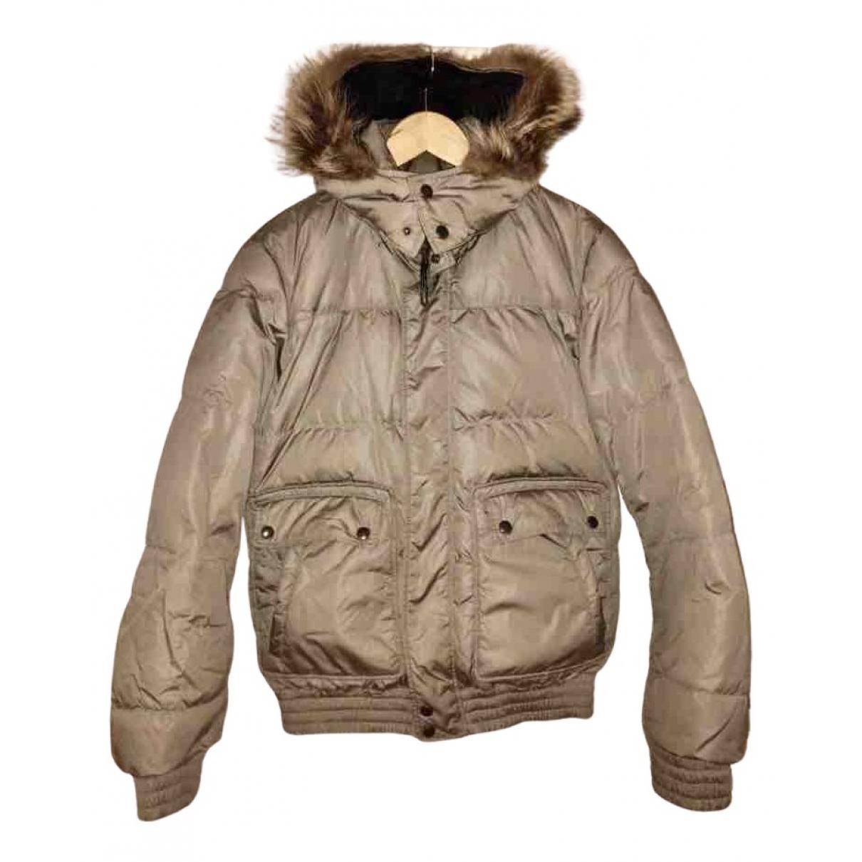 Prada - Manteau   pour homme - gris
