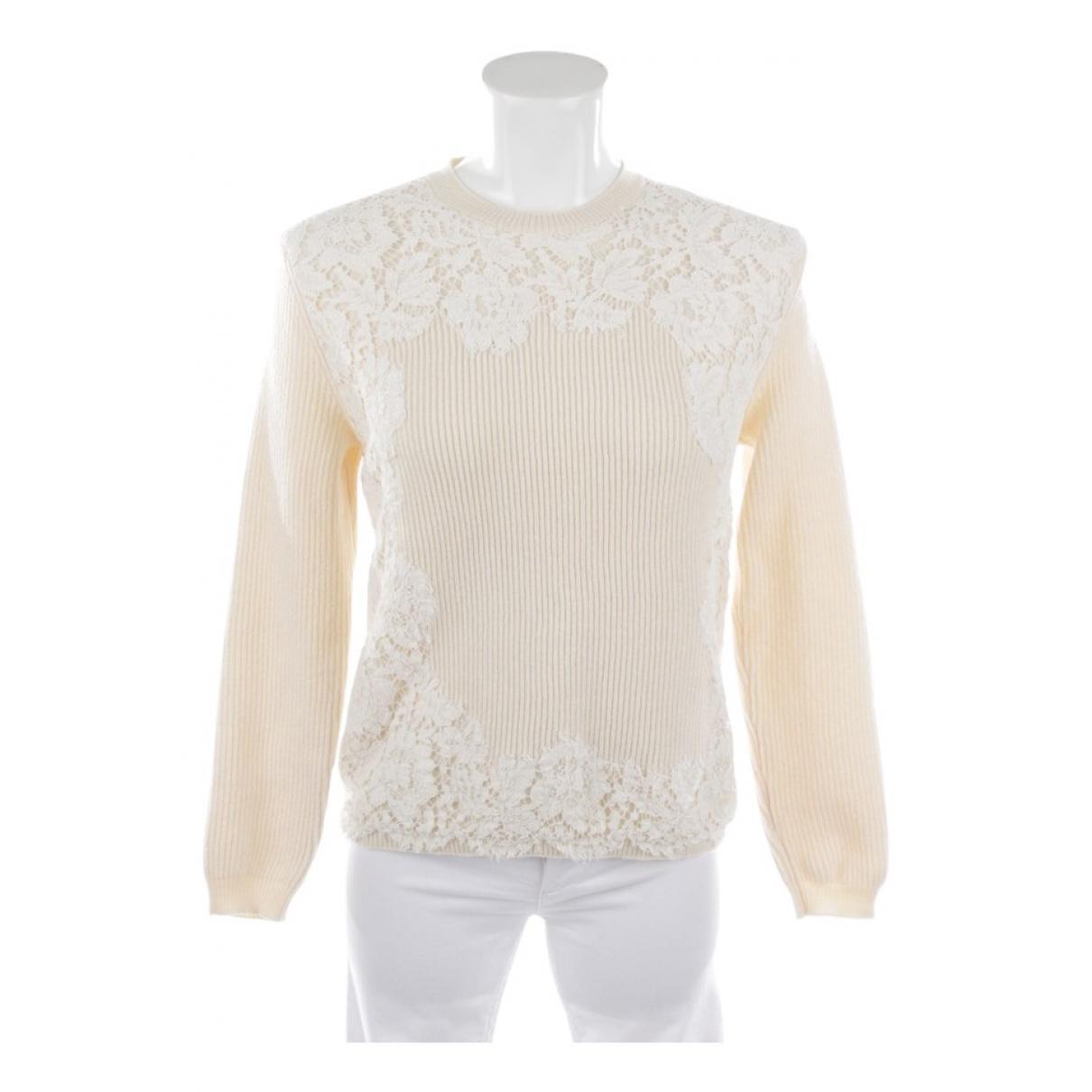 Valentino Garavani \N White Leather Knitwear for Women M International