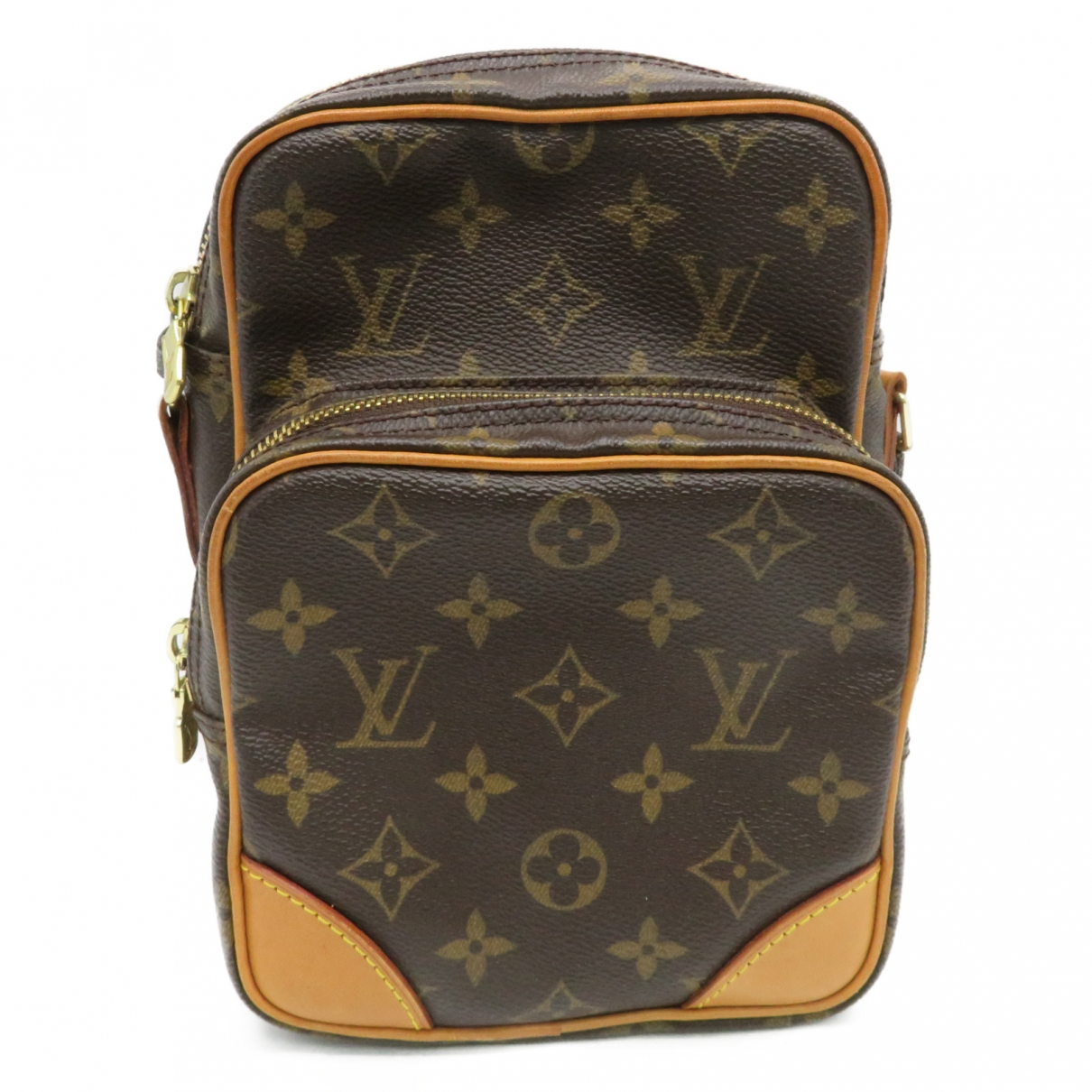 Louis Vuitton - Sac a main Amazon pour femme en toile - marron