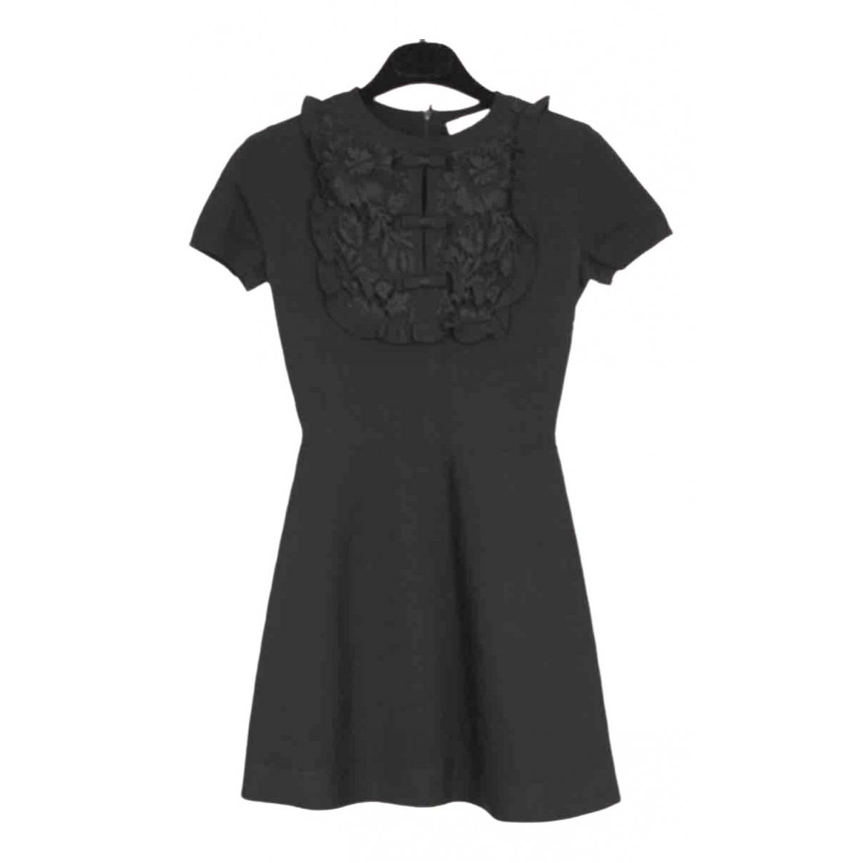 Valentino Garavani \N Black Lace dress for Women XS International