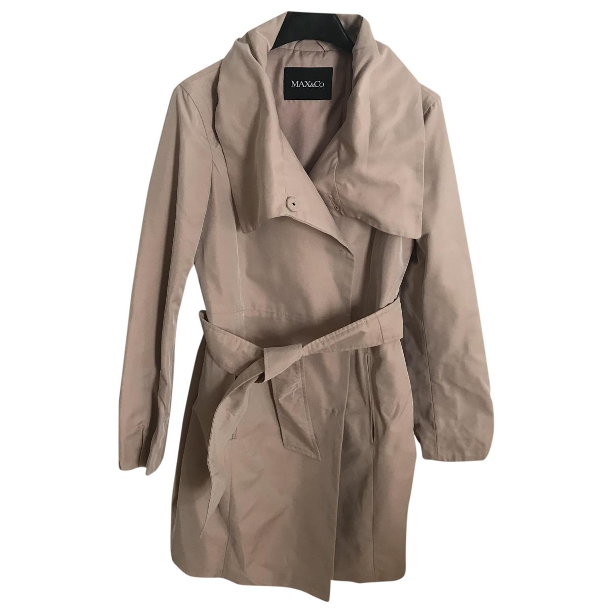Max & Co \N Trench in  Rosa Polyester
