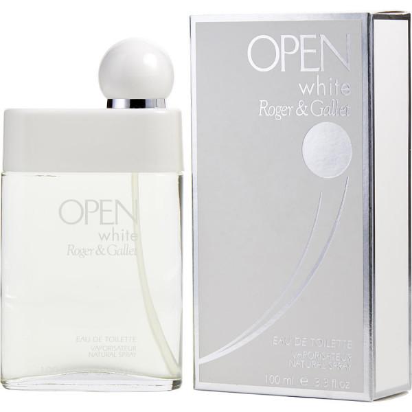 Open White - Roger & Gallet Eau de toilette en espray 100 ml