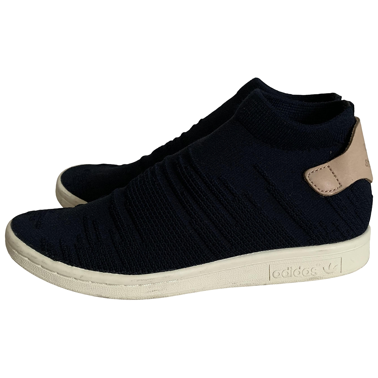Adidas Stan Smith Sneakers in  Schwarz Polyester