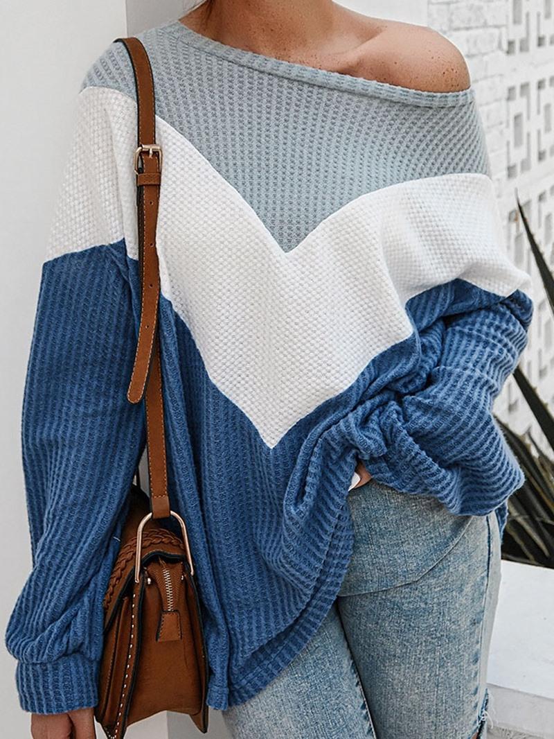 Ericdress Regular Thin Loose Round Neck Women's Sweater