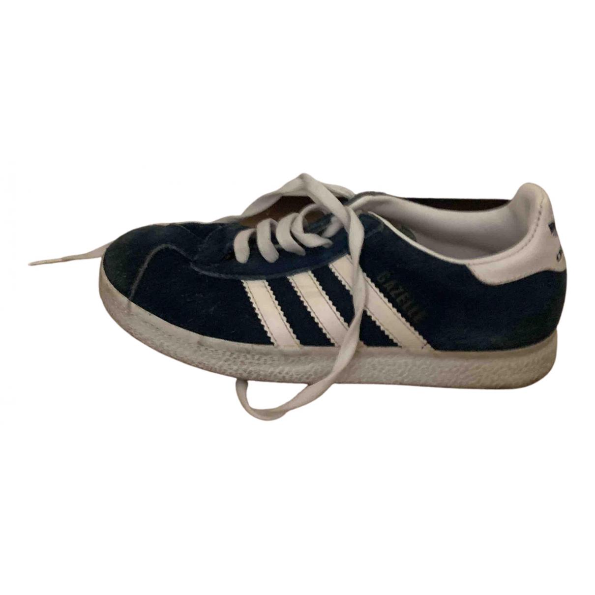 Adidas Gazelle Sneakers in  Blau Kautschuk