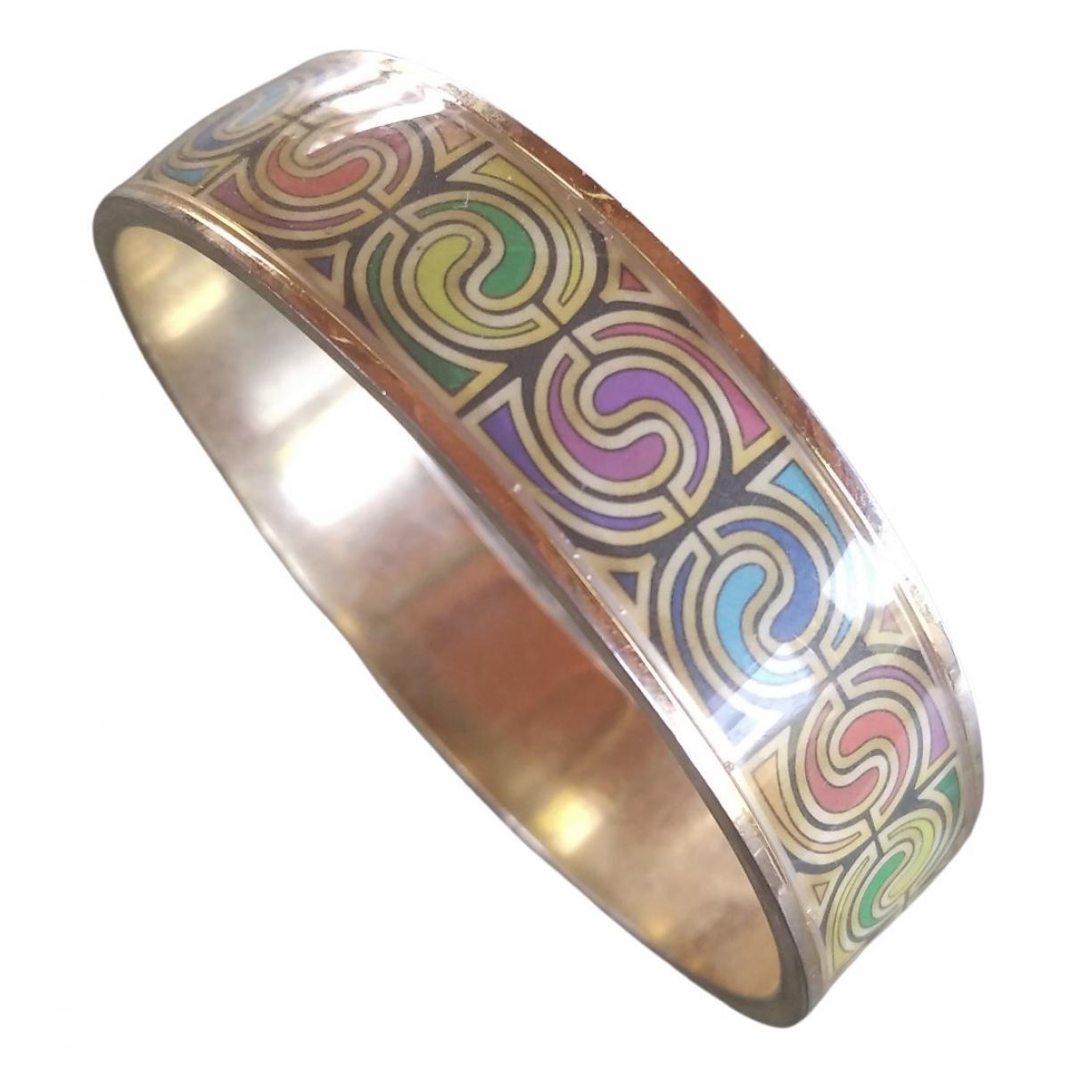 - Bracelet Jonc pour femme en acier - dore