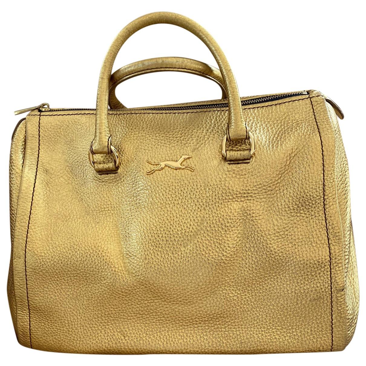 Bimba Y Lola \N Handtasche in  Gold Leder