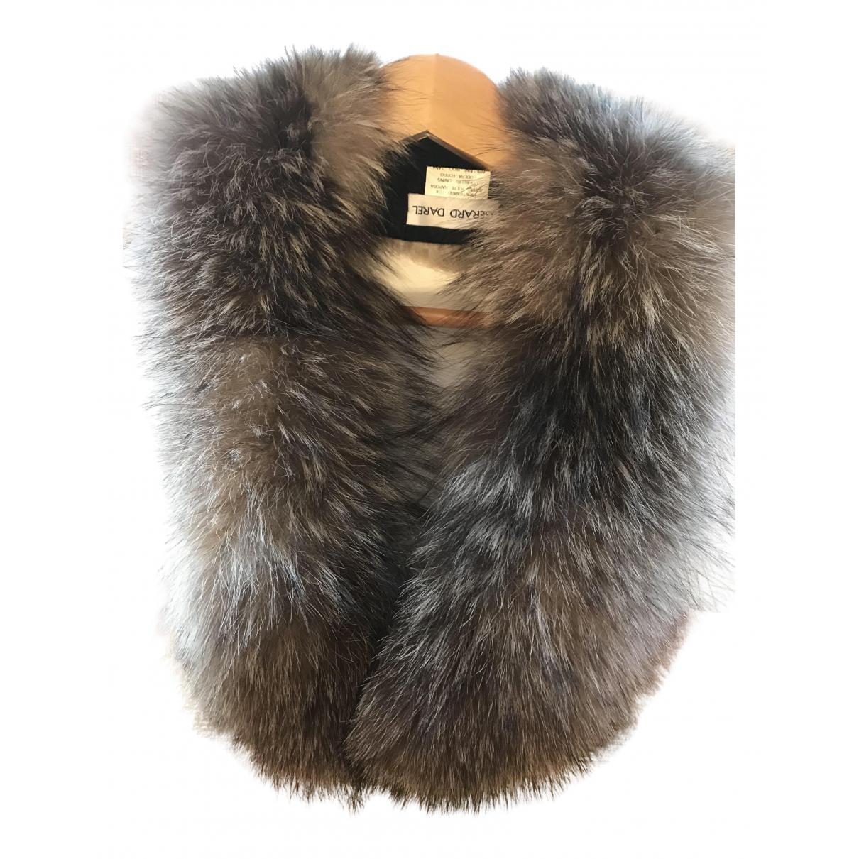 Gerard Darel N Grey Fox scarf for Women N