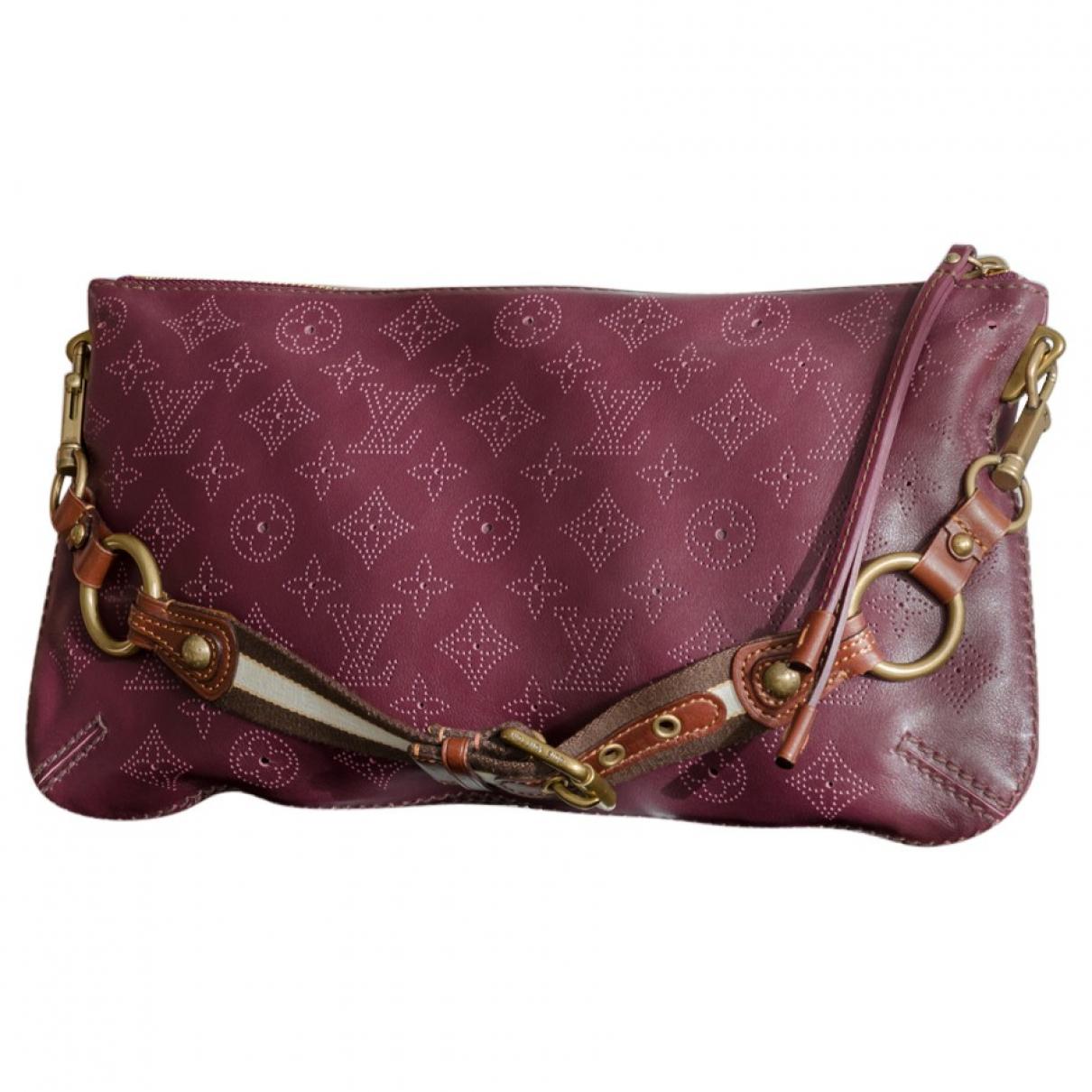 Louis Vuitton - Sac a main Mahina pour femme en cuir