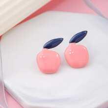 Fruit Decor Stud Earrings