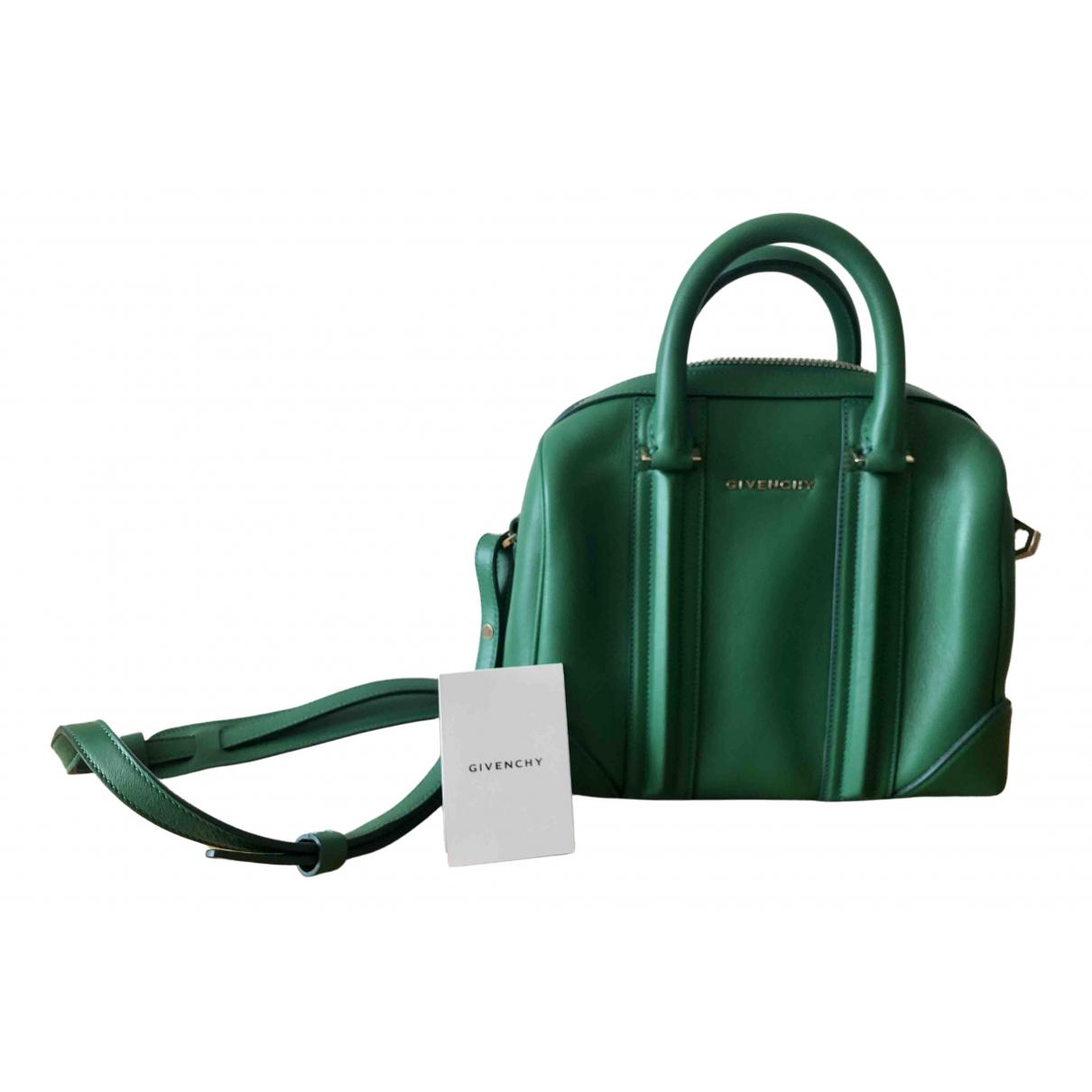 Givenchy Lucrezia Green Leather handbag for Women \N